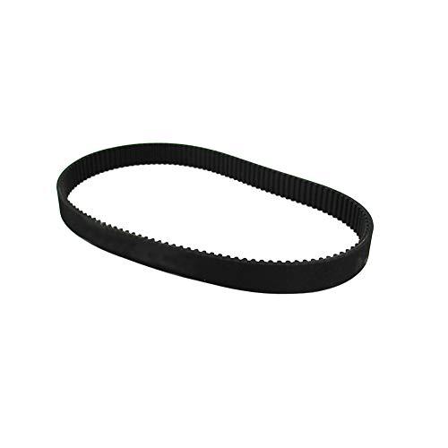 Motorrad-Antriebsriemen 3m-384-12 Schwarz Rubber Belt für Motorrad-E-Fahrrad-Roller-Antriebsriemen