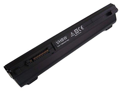 vhbw Batterie Li-Ion 6600 mAh (10,8 V) pour ordinateur portable TOSHIBA Satellite R630, r800, R830, R845 comme PA3831U-1BRS, PA3832U-1BRS, pa3833u-1brs.