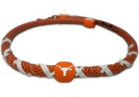 NCAA classique spirale Football Collier, Texas Longhorns, taille unique