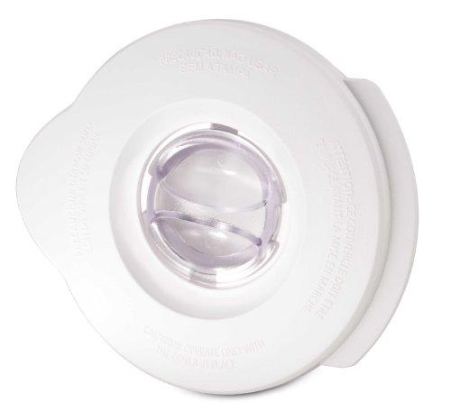 Oster BLSTAL-W00-050 - Tapa batidora de vaso Oster blanca redonda y tapón de llenado redondo