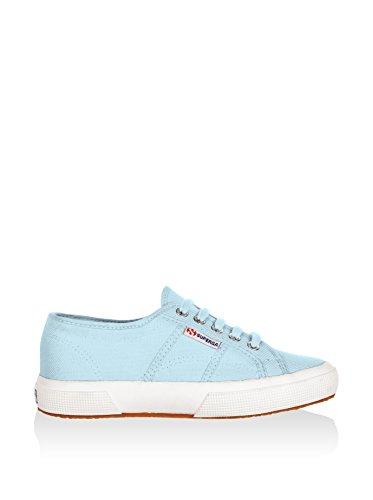 Schuhe Superga Sneakers Herren Damen Unisex 2750-plus Cotu Frühling Sommer Herbst Winter Crystal Azul