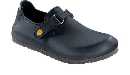Birkenstock 583160-45-normales Schuh LINZ Antistatik/Naturleder SCHWARZ Gr. 45 - normales Fußbett, Größe