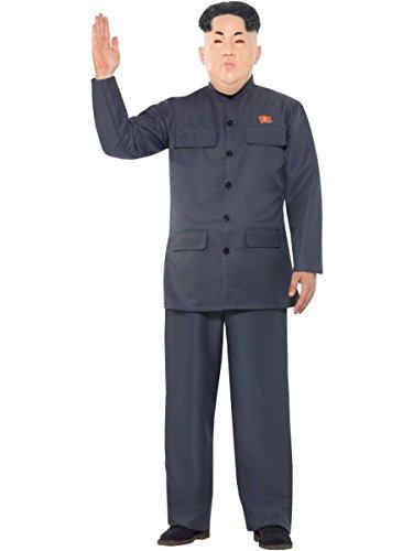 Diktator Kostüm Das - Smiffys Herren Kostüm Korea Diktator Anzug Karneval Fasching Halloween Gr.M