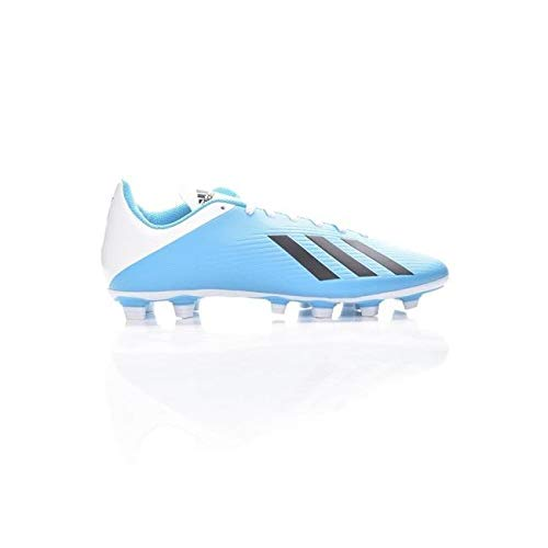 Adidas X 19.4 FxG, Unisex Adulto, Multicolor Bright Cyan/Core Black/Shock Pink 000, 41 1/3 EU