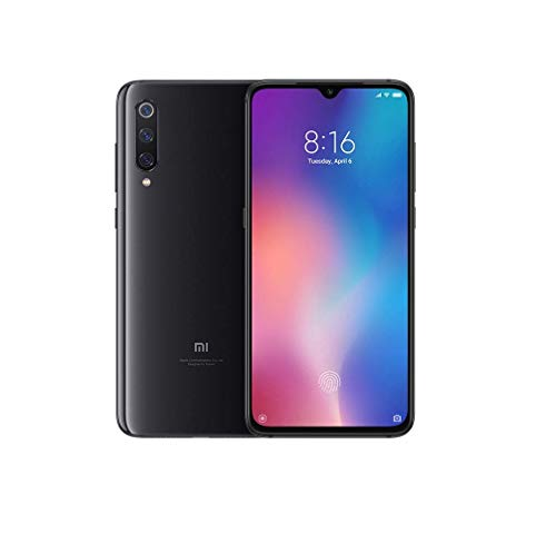 "Foto Xiaomi MI 9 Smartphone, 64 GB, display AMOLED 6.39"", 2280x1080, Snapdragon 855 Octa-core, 6 GB RAM, Tripla Fotocamera 48+16+12 MP, Android, Nero Onice [Versione Italiana]"
