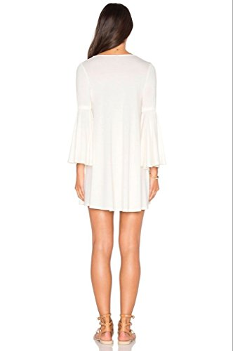 Blooming Jelly - Robe - Femme X-Large Blanc