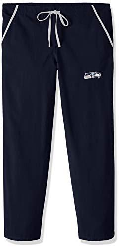 Scrub Dudz NFL Seattle Seahawks massiv Scrub Pants, Blau, Mittel Nfl-scrubs