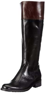 Gabor Shoes Comfort 72.775.97, Damen Stiefel, Schwarz (schw/teak(Micro)), EU 37 (UK 4) (US 6.5)