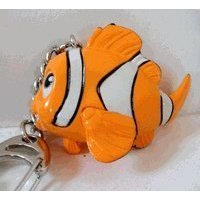 Click for larger image of Disney Finding Nemo Figure Keychain [Toy]