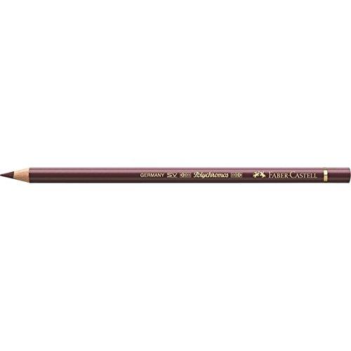 Faber-Castell Polychromos 110263 Burdeos, Violeta 1pieza(s) laápiz de color – Lápiz de color (1 pieza(s), Fijo, Burdeos…