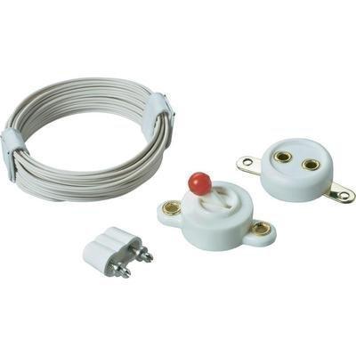 Beleuchtungssortiment: Draht, Schalter, Stecker und Steckdose (Kahlert Licht 60910)