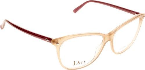 Dior Für Frau Cd3270 Opal Light Brown / Violet Kunststoffgestell Brillen, 55mm