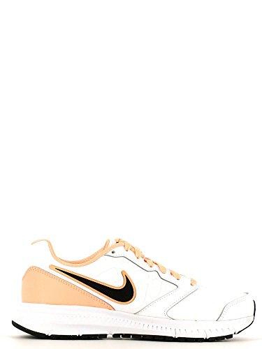 Nike Wmns Downshifter 6 Lea, - homme Blanc