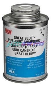 Oatey 31263 Great Blue Pipe Joint Compound, 16 fl.Ounce by Oatey -