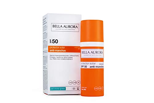 Bella Aurora Protector Solar Facial Anti-Manchas - 50 ml.