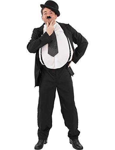 Herren Oliver Hardy Stan Laurel Film Karneval Verkleidung Kostüm ()
