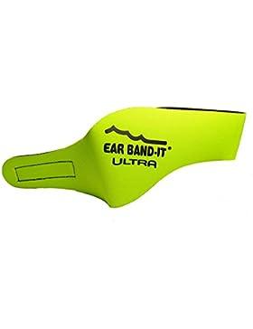 Ear Band-It - Bandas protectoras de oídos para natación amarillo amarillo Talla:small