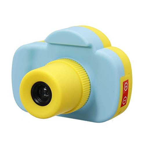 a Kids Digital Camera Screen Hd Camcorder Tf Card Toy Xmas Geschenk-Neuheiten Spielzeug - Blau ()