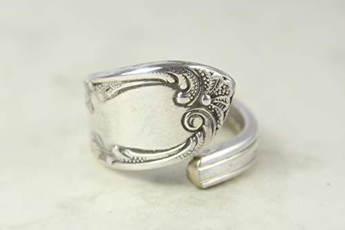 Besteck Schmuck Ring, ca. 66 (21) Ring aus Besteck