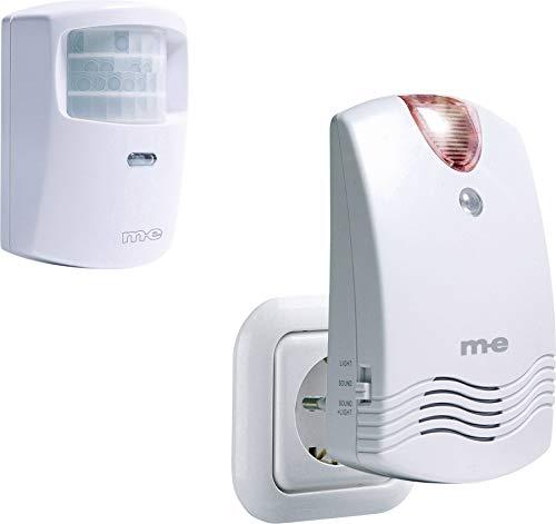 m-e modern-electronics Durchgangsmelder DGF-100 mit Bewegungsmelder 40713