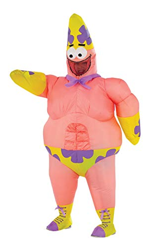 Kostüm Spongebob Schwammkopf Patrick - Rubie's Costume Spongebob Sponge Out of Water Patrick Star Inflatable Child Costume by Rubie's Costume Co