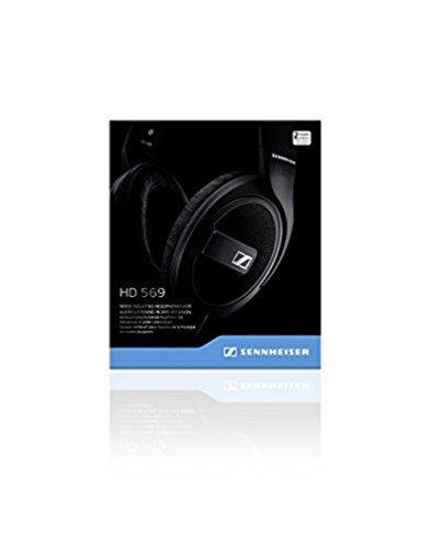 Sennheiser HD 569 Headset (ohrumschließendes, geschlossenes, für Anrufe/Musik) matt-schwarz - 7