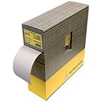 Klingspor 325022 Rollos con Soporte de Papel, PS 73 BWF, 600 Grano, 115 mm x 25000 mm