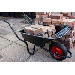 Ambassador Boxed Black Builders Wheelbarrow 90 Litre