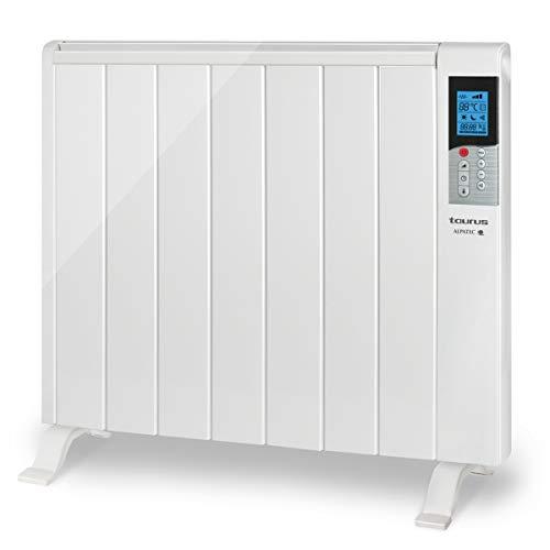 Taurus Tanger 1500 - Emisor térmico con tecnología seca, programación diaria-semanal, temperatura...