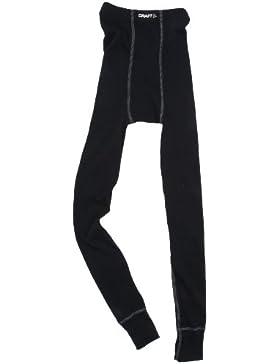 Craft Zero - Calzamaglia termica per bimbi, taglie e colori assortiti, nero (nero), 134-140