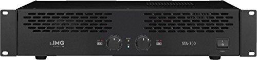 Finale Di Potenza Amplificatore Stereo IMG Stage Line Monacor STA-700 800 Watt