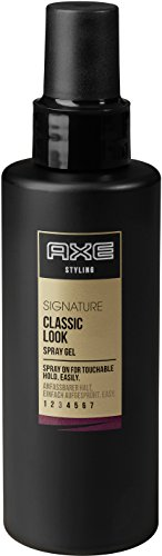 Axe Haarstyling Spray Gel für Männer Classic Look Signature, 6er Pack (6 x 150 ml)