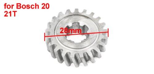 sourcingmap® Elektrisch Impact Bohrhammer Reparatur Teil Stirnrad Zahnrad 21z für Bosch 20 de - 2