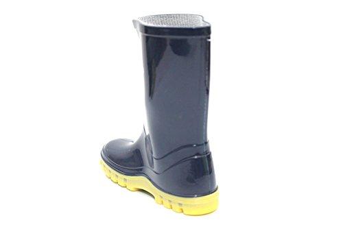 Despicable Me Minions pour enfants Bottes de pluie Wellington Bottes en caoutchouc taille 36–40 Bleu - Bleu marine