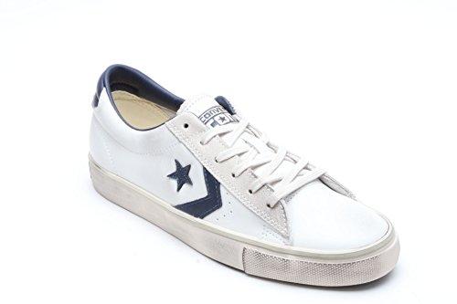 Converse Pro Leather Vulc Ox, Sneaker a Collo Basso Uomo Bianco