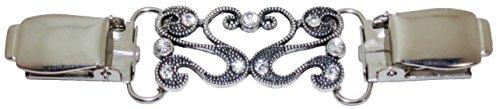 Besser als Knöpfe Women's Antik-Stil, mit Kristallen, zum Aufstecken, Design