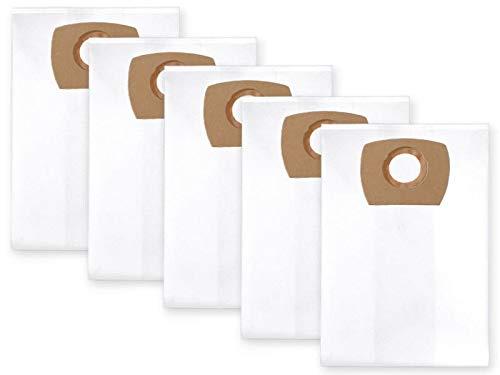 Profilters 5 Staubbeutel Filtersack für NILFISK AERO 21-01, 21-21, 26-01, 26-2L, 31-21, VL200, VL200, VL200 20, VL200 30, Makita VC 1310 LX1