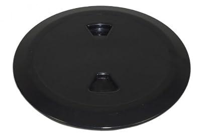 Inspektionsluke 187 mm schwarz