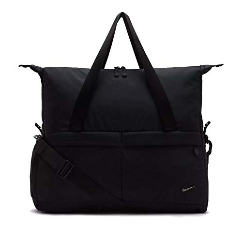 Nike Damen Legend Club Solid Sporttasche, Black, 43 x 48.5 x 18 cm