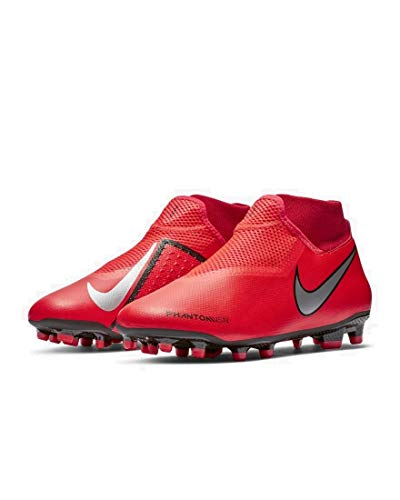 97916a01c Nike Unisex-Erwachsene Phantom VSN Academy Dynamic Fit MG Fußballschuhe  Mehrfarbig (Bright Crimson