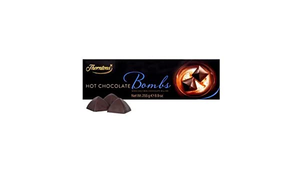 Thorntons Indulgence Hot Milk Chocolate Bombs 62374