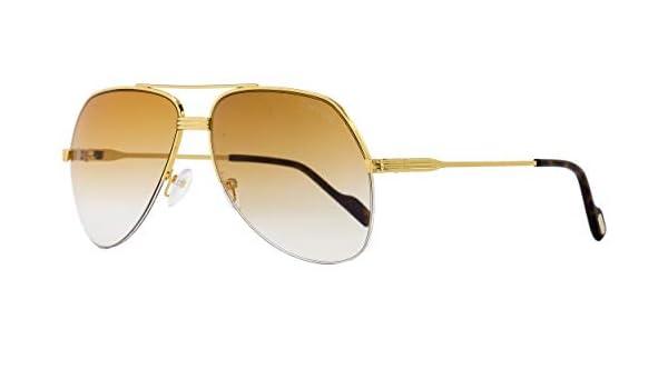 048220613686 Tom Ford FT0644 32F 62, Montures de Lunettes Mixte Adulte, Or (Oro Marrone  Grad)  Amazon.fr  Vêtements et accessoires