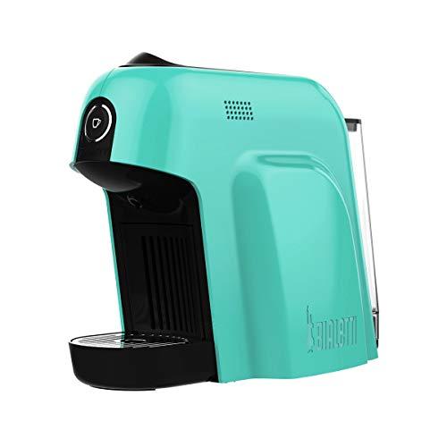 Bialetti Smart Macchina da Caffè Espresso per Capsule in Alluminio sistema Bialetti il Caffè d'Italia, 1200 W, Azzurro