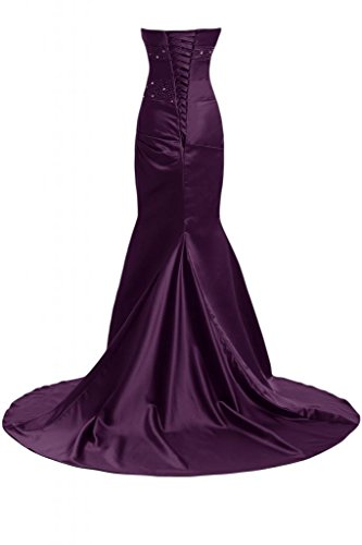 Sunvary Bella sirena abito da sera lungo Pageant-Costume da ufficiale, Donna Grape