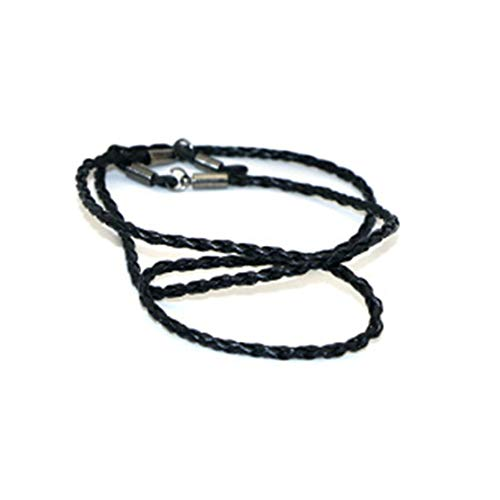 LouiseEvel215 Cuerda de cuerda de Cuero de Moda Gafas de extremo Ajustable Correa para EL Cuello Exquisito Cordón para gafas Accesorios para gafas universales