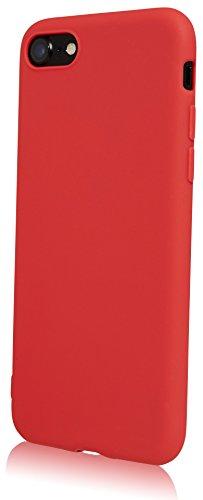 iPhone 6 Hülle Case   Schwarz matt   Bekannte Movoja® Passform   Schutzhülle Matt verschiedene Farben iPhone6 Cover Apple - Movoja® iPhone 6 matt Schwarz Rot
