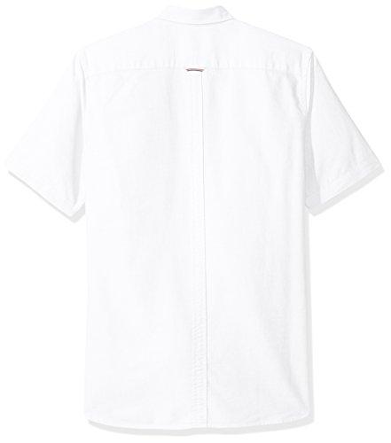 Camicia manica corta uomo Fred Perry bianca Bianco