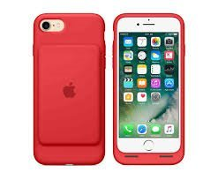 Apple iPhone 7 Smart Battery Case- Red