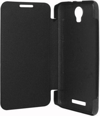 Kaira Premium Quality Black Flip Cover for Micromax Canvas Juice 2  available at amazon for Rs.179