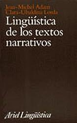 Lingüística de los textos narrativos